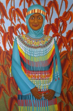 Beautiful Sulawesi girl image