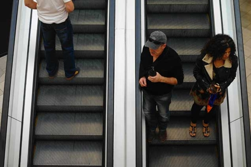 Escalator Portrait Series  image