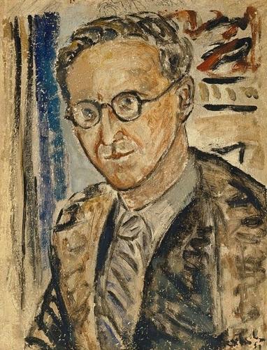 Portrait sketch of Herbert Collingwood image