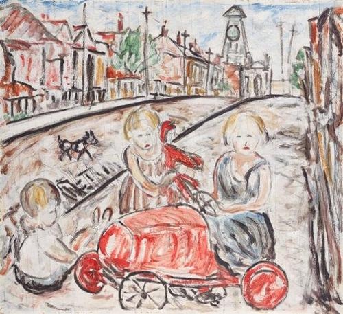 Fitzroy street scene image