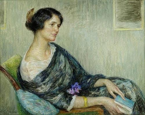Porträt der Linda Fierz-David.  image
