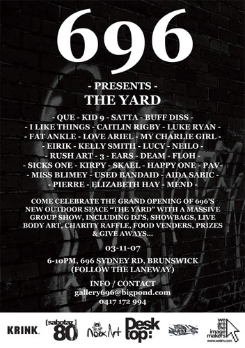 696 Presents The Yard image