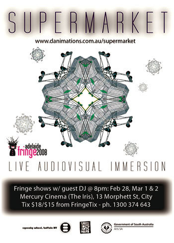 Supermarket: audio-visual immersion (Adelaide Fringe season) image