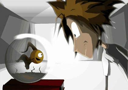 Still from Imogen, Digital Animation image