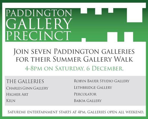 Paddington Gallery Precinct Summer Walk 2008 image