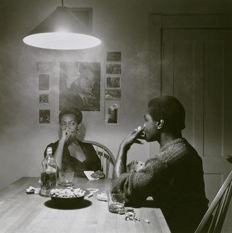 Untitled (Man Smoking/Malcolm X) image