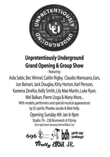 Unpretentiously Underground image