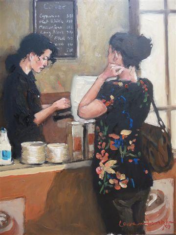 Lady at Counter image