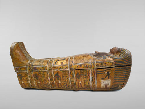 Anthropoid Coffin of the Servant of the Great Place image