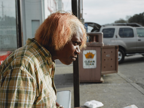 New Orleans (Woman Eating), 2004 image