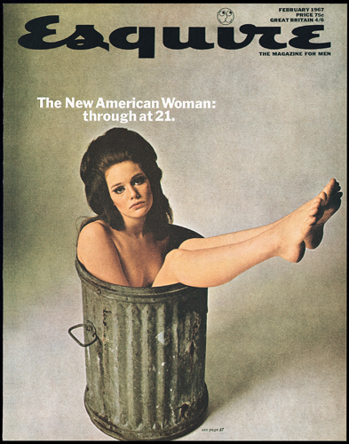 Cover for Esquire Magazine, Issue no. 399, February 1967 image