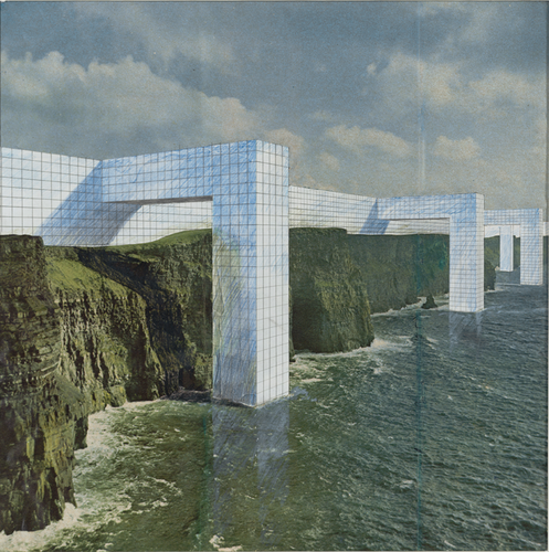 The Continuous Monument: On the Rocky Coast, project Perspective (1969).  image
