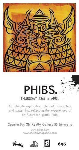 Phibs Solo Show image