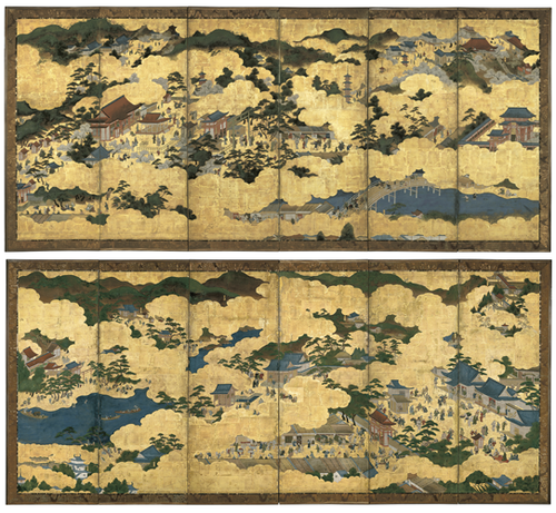Scenes in and around Kyoto 1680-1700, Kyoto image