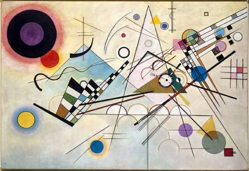 Composition 8 (Komposition 8), July 1923 image