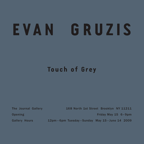 Evan Gruzis - Touch of Grey image