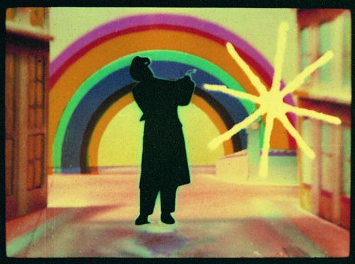 Len Lye from Rainbow Dance  image