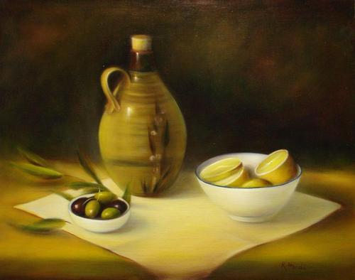 Olives and Lemons image