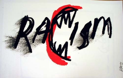Racism. 1993 image