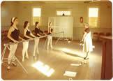 Mrs Schneider with members of the Dubbo Ballet Studio, c1976 image