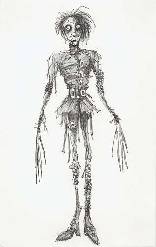 Untitled (Edward Scissorhands). 1990.  image