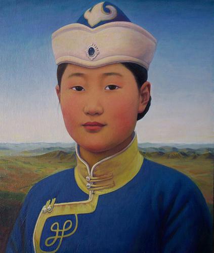 "Aronna (""pure"" in Mongolian) image"