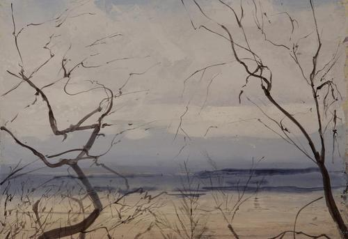 Second study for A Painter's Landscape III 2010 image