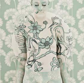 Emma Hack, Egrets Mandala, 2010 image