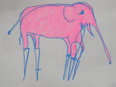 Elephant on stilts, 2010 image