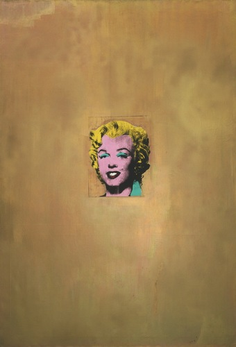 Gold Marilyn Monroe 1962 image