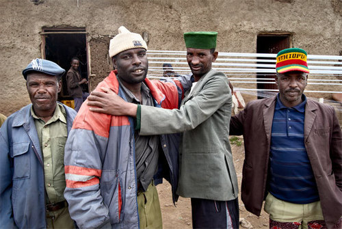 Sheno Prison Portrait, Ethiopia, 2009 image