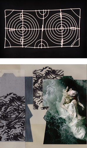 Andrea Higgins, Untitled 1 from Wire Works Series, Photogram, 2009 image