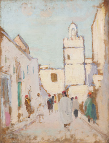 North African street scene c.1924 image