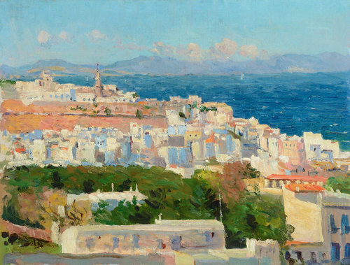 View of Tangiers c.1911 image