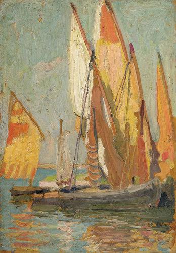 Venetian boats 1906-7 image