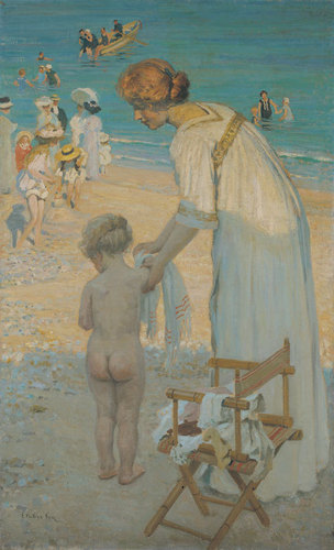 (Bathing hour) (L'heure du bain) c.1909 image