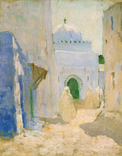 The mosque at Tangier c.1911 image