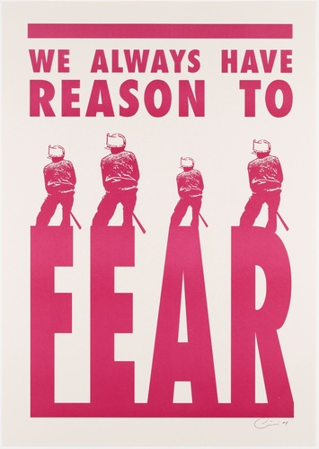 We Always Have Reason to Fear. 2008 image