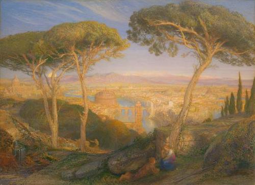 The Golden City: Rome from the Janiculum 1873 image