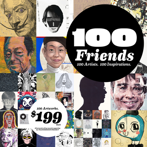 100 Friends 100 Artists 100 Inspirations image