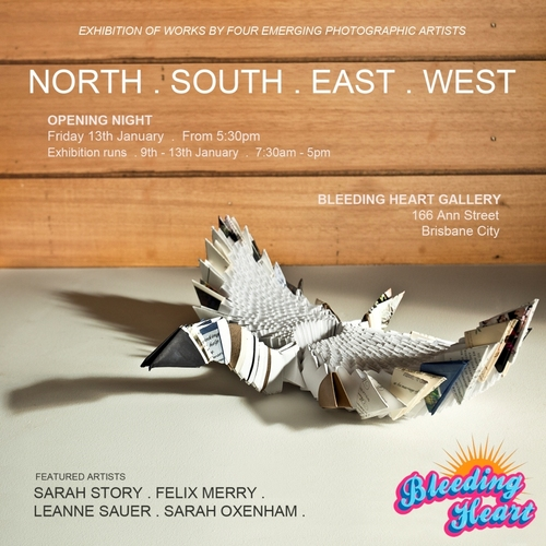 North . South . East . West . image