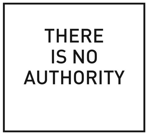 Marco Fusinato: There is no Authority image