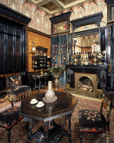 Moorish Smoking Room, The John D. Rockefeller House,  image