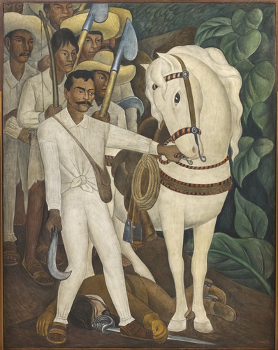 Agrarian Leader Zapata, 1931. image