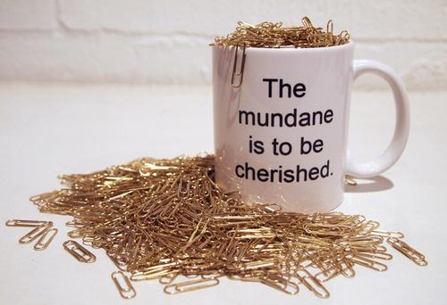 The Mundane is to be Cherished image