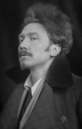 Ezra Pound (detail) image