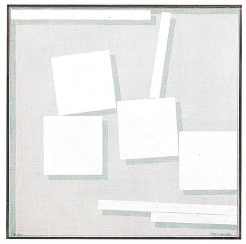 WHITE PAINTINGS Curated by John Nixon image