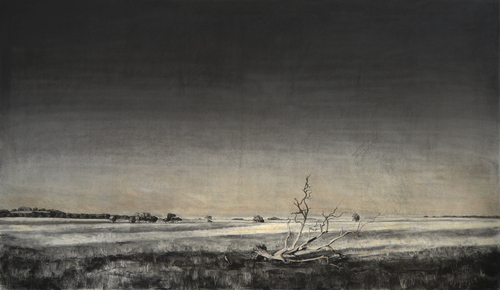 Long Shadowed Land (part 1 of triptych), 2012 image