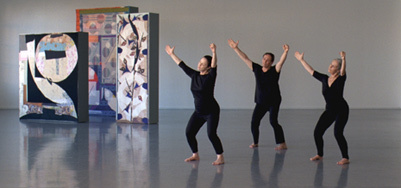 Production still from Five Dances and Nine Wall Carpets by Noa Eshkol image