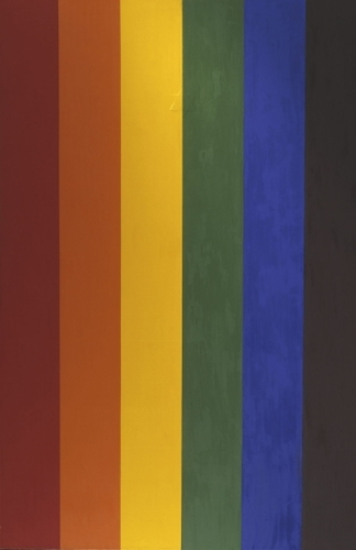 Double Portrait (Gay Flag) image